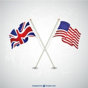 Image for US UK flag for expat post
